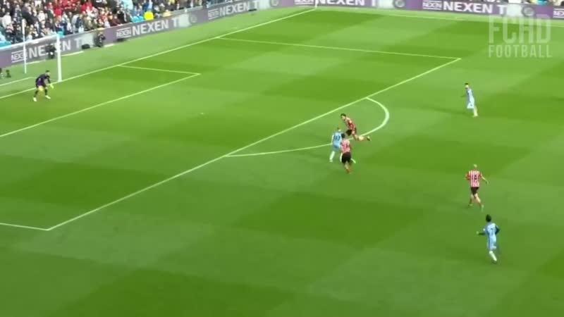 Virgil van Dijk ação vs KDB 2016