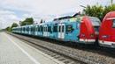 FOM Werbe S-Bahn im Otterfinger Bahnhof.........