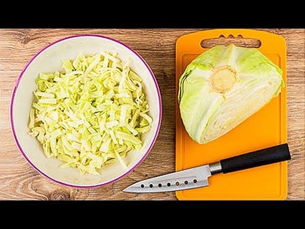 5 РЕЦЕПТОВ из капусты, которые должны быть у каждой хозяйки » Freewka.com - Смотреть онлайн в хорощем качестве