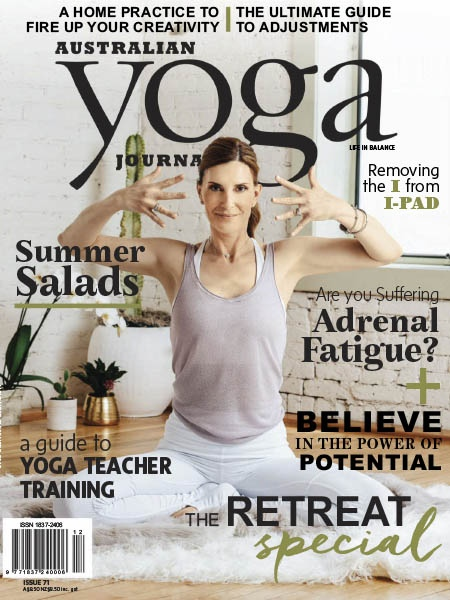 Australian Yoga Journal 2018 11 12