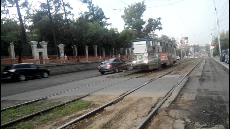Трамвай КТМ-5 в Иркутске