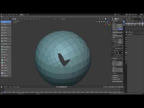 Blender 2.8 - Topology basics