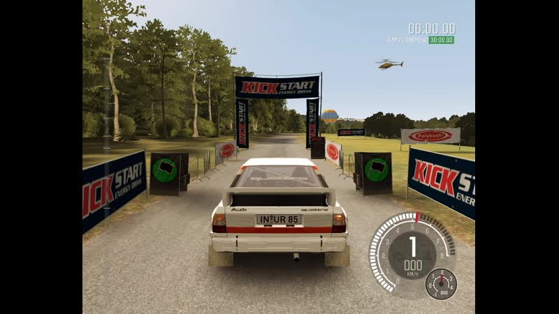 Dirt Rally/ S1 Time Attack (OBS 30FPS 13mb Bitrate nvenc, Video Rec.Test)