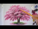 Akrilik Boya Teknikleri Ağaç Yapımı Ağaç Çizimi
