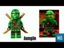 ВСЕ ЛЕГО МИНИФИГУРКИ ЛЛОЙДА/ALL LEGO NINJAGO LLOYD MINIFIGURE