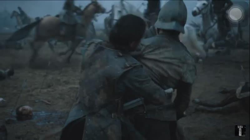 Джон в битве бастардов