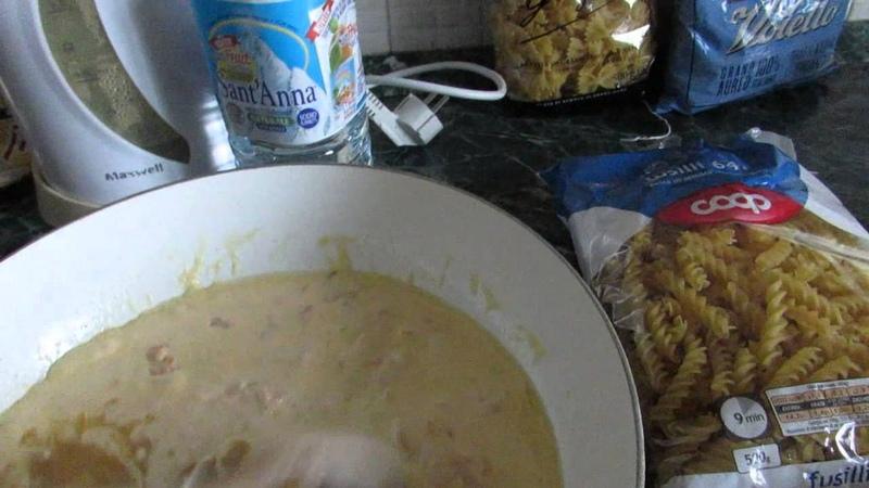 Видео - рецепт итальянской пасты с семгой в сливочном соусе