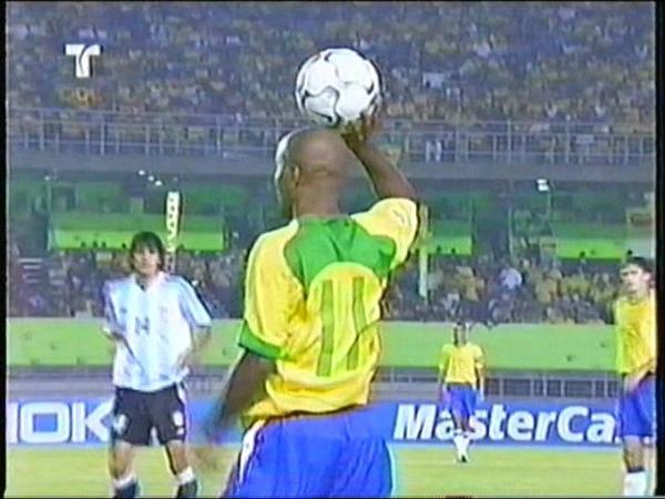 Brasil vs Argentina 2004 - Eliminatorias - Partido completo.