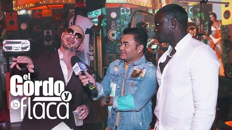 El secreto de Pitbull para hacer un día con 26 horas y lograr colaboraciones como con Akon GYF