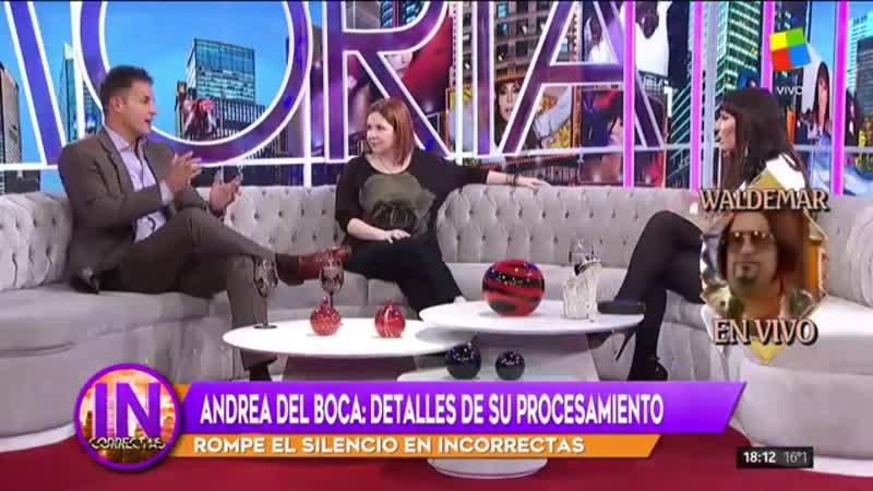 Te decian mama corrupcion Moria a Andrea del Boca