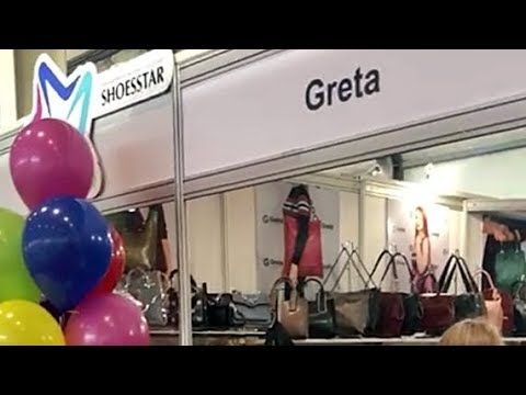 Интернет магазин сумок GRETA на выставке обуви и кожгалантереи ShoesStar в Екатеринбурге 2019