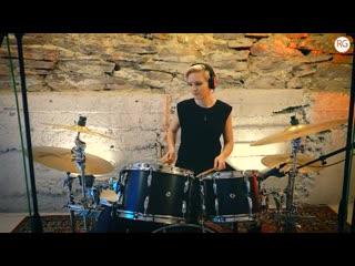 Топовая школа барабанов в Красноярске - Алёна Булыгина - Ozzy Osbourne - Crazy Train (отрывок)