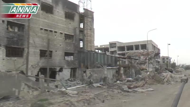 «Сирия» Уничтожение - «огневой позиции боевиков» «Джобар»