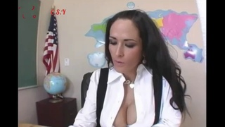 carmellabing giannamichels Gianna Michaels and Carmella Bing at School Sexy