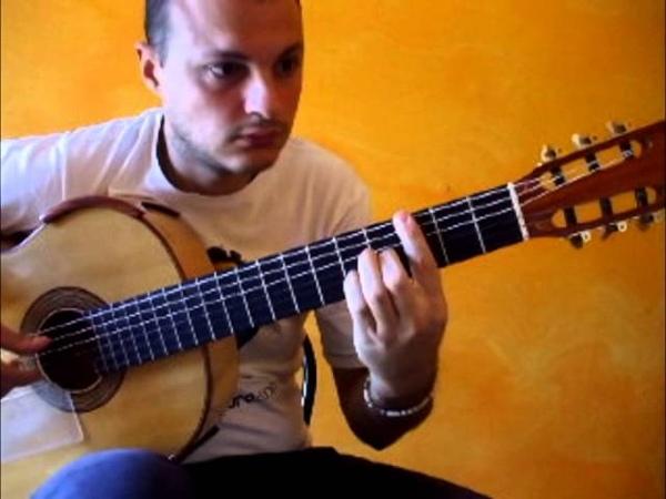 SAGRERAS II STUDIO NR 7 Flavio Sala Guitar Teaching Series