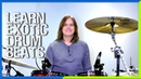 Learn Some Funky Exotic Drum Beats
