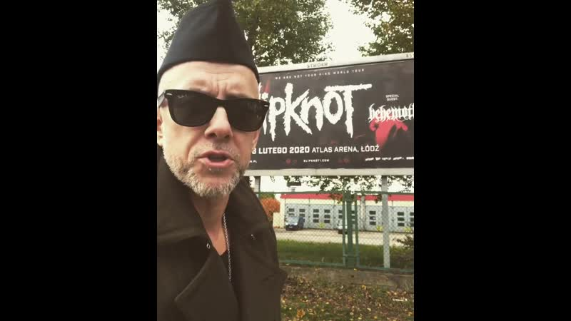 Nergal invites to the Behemoth show in Łódź 6.02.2020