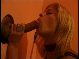 Whos sucking behind this glory hole