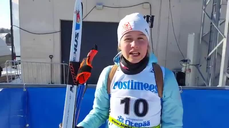 Astri Slettemark Ukaleq wrote history by just missing the podium and finishing fourth today OTE18 biathlon