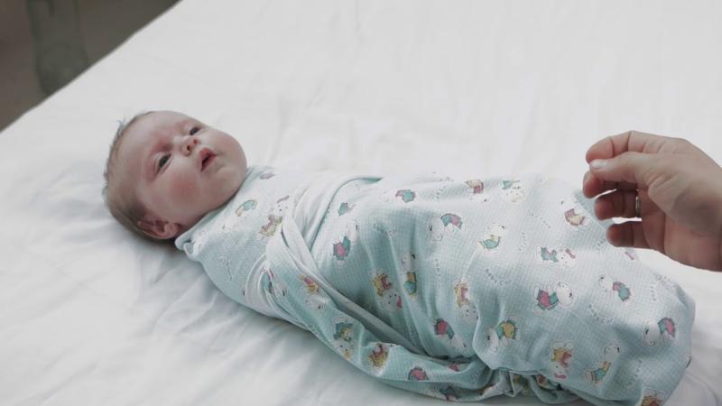 Видео инструкция Пеленание младенца
