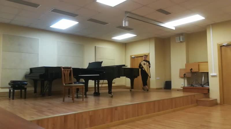 Татьяна Жак - Диптих для гуслей соло «Полуночница», «Полуденница» (Исп. Варвара Емельянова)