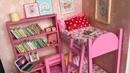 DIY Minyatür Barbie Yatak Odası Yapımı   Kendin Yap   Minyatür Eşyalar