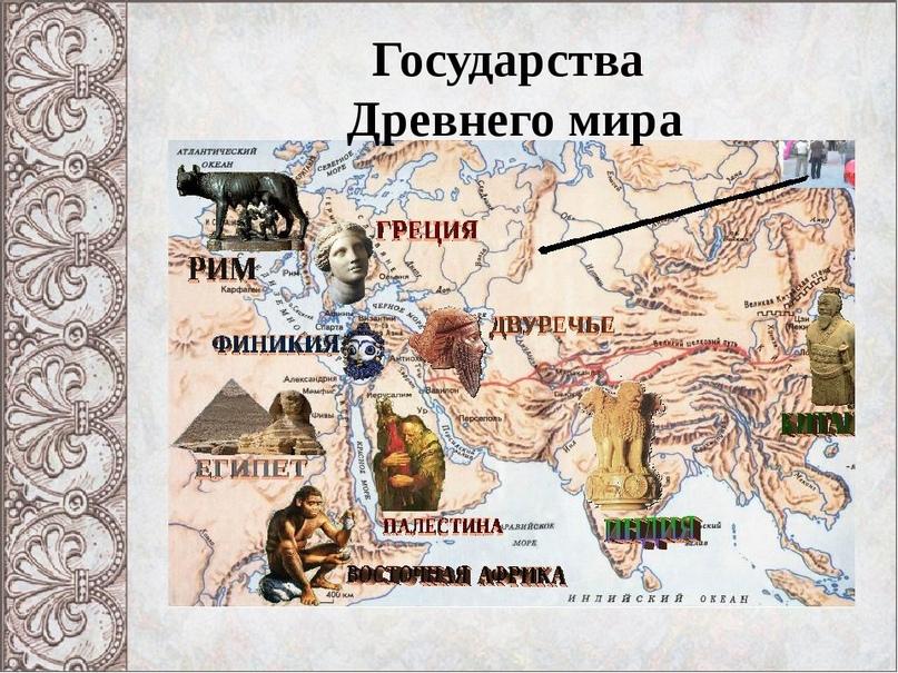 История древнего мира цивилизация
