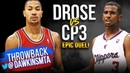 Derrick Rose vs Chris Paul EPiC Duel 2011.10.30 - CP With 15 Pts, 14 Asts, Rose With 29, 16 Asts!