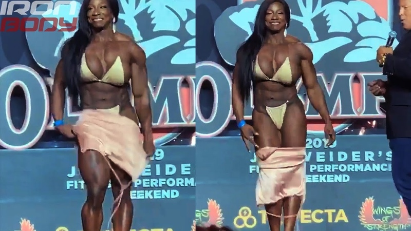 2019 Mr. Olympia Posing Margie Marvelous Interview