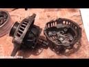 Установка генератора ВАЗ 2110 в Mazda Demio DW3W
