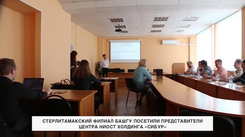 Гости из НИОСТ Сибур в СФ БашГУ