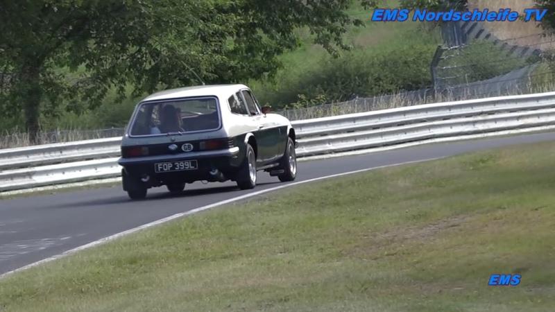 Reliant Scimitar Nurburgring Nordschliefe Touristenfahrten