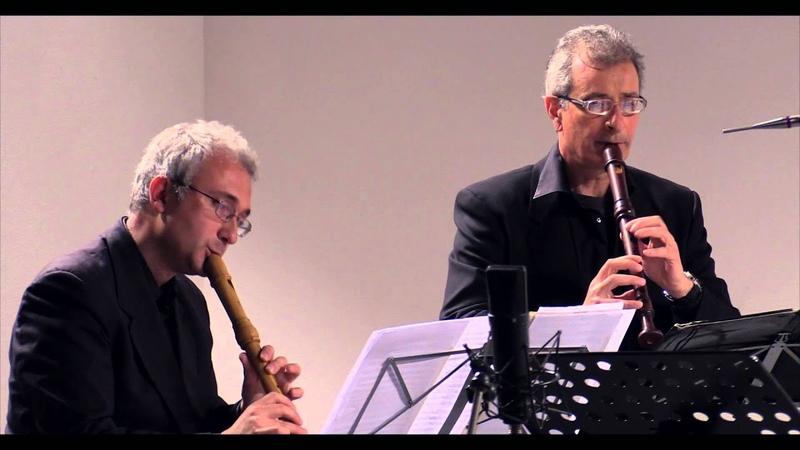 Alessandro Scarlatti Sonata in fa maggiore per 3 flauti e continuo