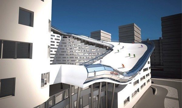THIS CRAZY APARTMENT IN KAZAKHSTAN HAS ITS OWN SKI SLOPE