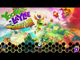 Yooka- Laylee and the Impossible Lair Announcement Trailer