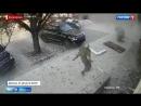Как вынесло Захарченко (Зажарченко). Запись с камер наружного наблюдения (Донецк)