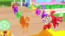 Los animales de granja y sus crías se transforman en animales salvajes en la fuente Episodio 19