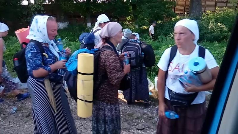 Почаевский Крестный Ход 2019 День 2 й Растянулись на 10 км