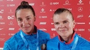 LITVINCHUK, KHUDZENKA BLR - K2 Women 200m Gold / 2019 ICF Canoe Sprint Worlds Szeged