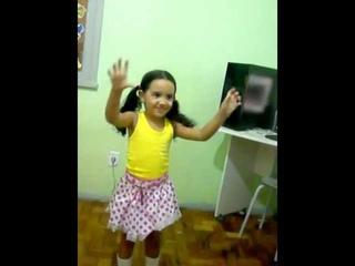 menina dançando  parte 2