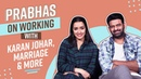 Prabhas on working with Karan Johar, Jacqueline Fernandez and marriage | Saaho | Shraddha Kapoor