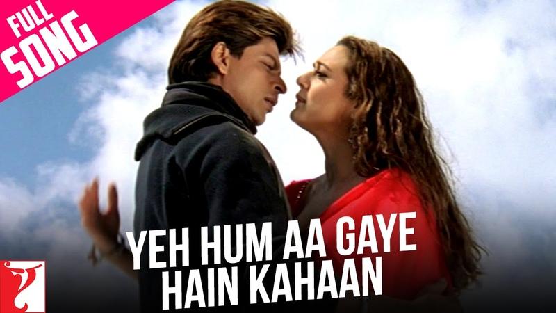 Yeh Hum Aa Gaye Hain Kahaan - Full Song   Veer-Zaara   Shah Rukh Khan   Preity Zinta   Lata   Udit