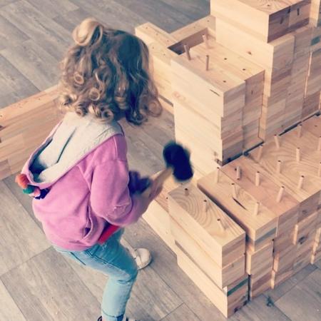 """BLOKX on Instagram Kinderleicht aufzubauen 🙂"""""""