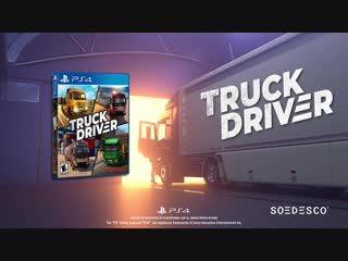 Truck driver - gameplay trailer ps4