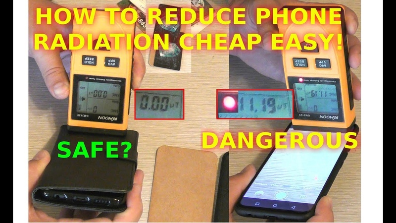 How To Reduce Cellphone Radiation Exposure With A Cellphone Case Safety First Easy Way DIY Hack Tric