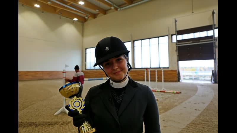 Ольга Давыденко - победитель маршрута CSI J (120)