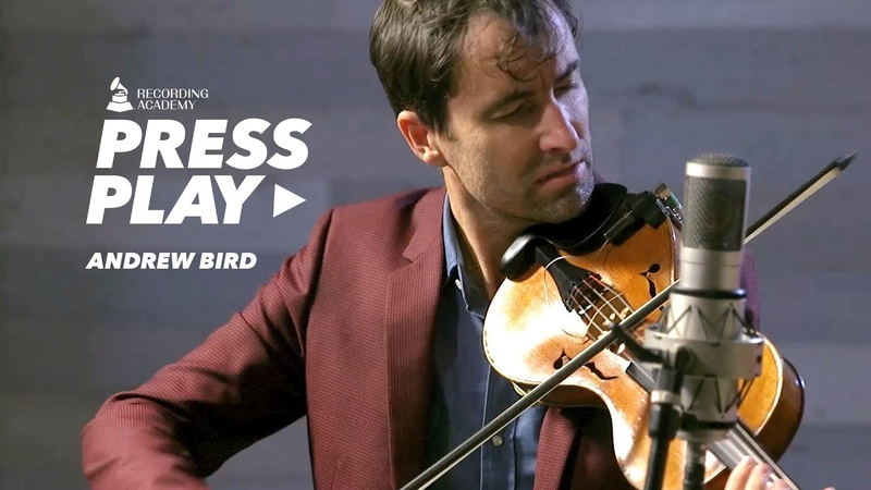 Andrew Bird Performs 'Olympians' Press Play