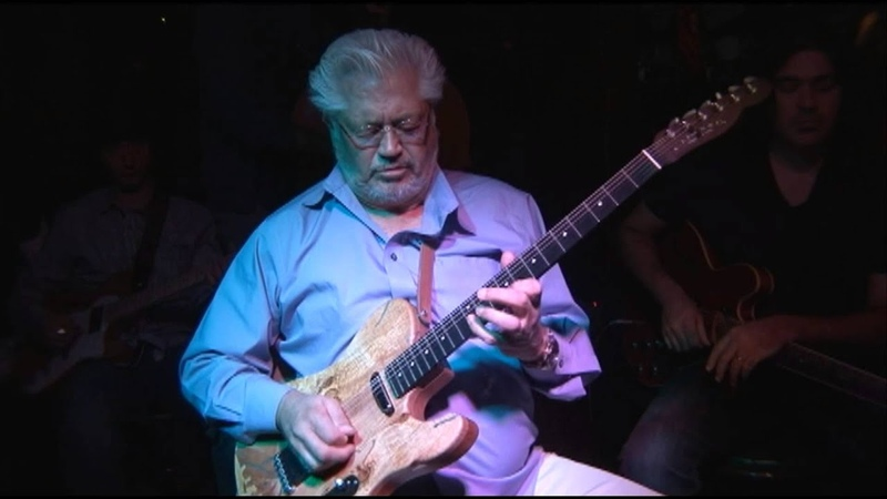 Larry Coryell 70th Birthday with Murali and Jullian Coryell at O'Donoghue's Nyack N Y 2013 Part 1