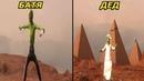 Инопланетянин танцует Батя и Дед зеленого человечка Кто круче танцует