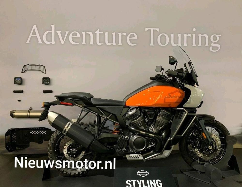 Фотографии Harley-Davidson Pan America / Streetfighter